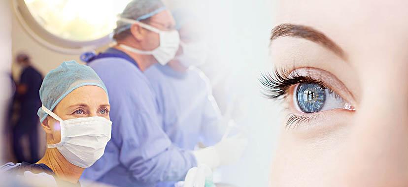 激光手术还是瞳孔放大片?