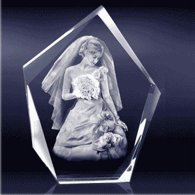 激光内雕技术是艺术玻璃加工革命性创新
