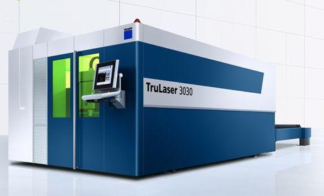 德国通快公司最新的固体激光切割机TruLaser3030 fiber