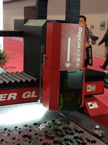 锐科光纤激光器助阵广州国际广告标识展