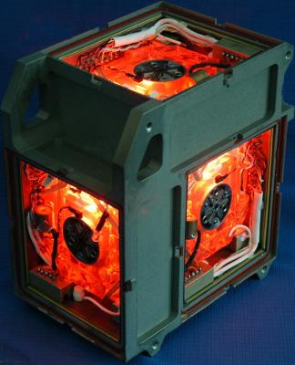 西安一家企业生产的民用三轴激光陀螺仪