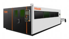 Mazak Optronics推出的Optiplex3015光纤激光切割系统