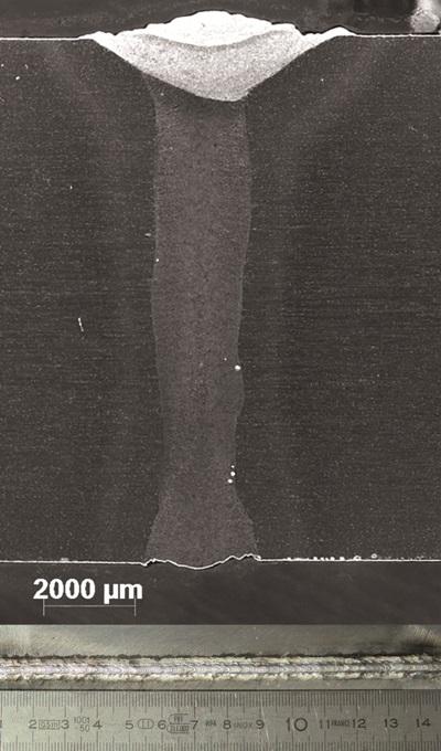 碟片激光器混合焊接的管道应用