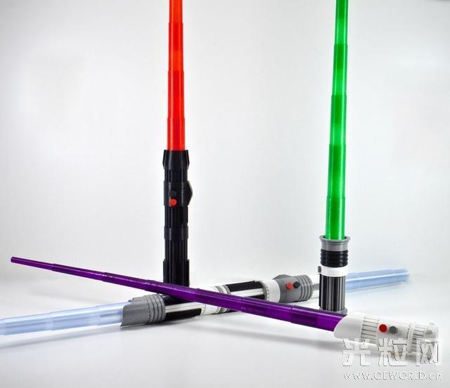 3D打印机能DIY一把3D打印星战激光剑