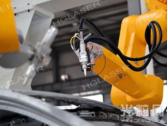 华工激光法利莱三维激光切割焊接机