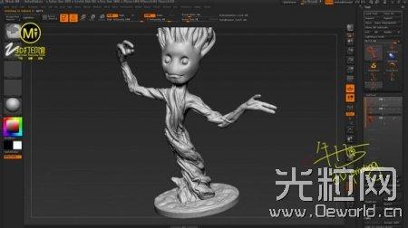 【银河护卫队】3D打印格鲁特 全过程!