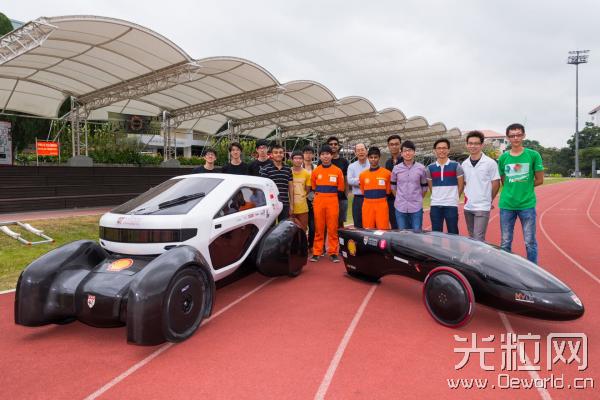 南洋理工大学学生成功3D打印太阳能电动汽车