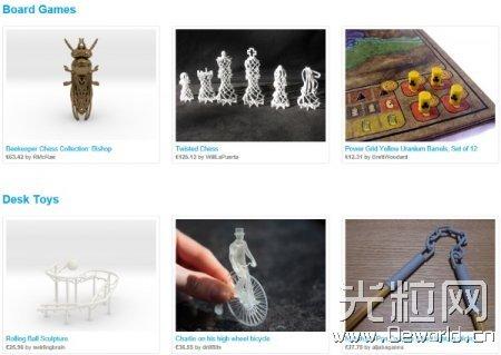 Shapeways月均3D打印订单量超18.1万件