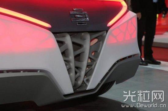 [组图]3D打印车日内瓦车展现身 车身比纸轻