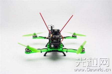 Hovership发布最新可3D打印四轴飞行器