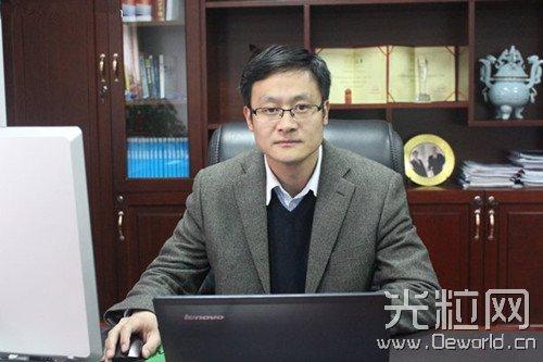 访南京中科煜宸激光技术有限公司总经理 邢飞博士