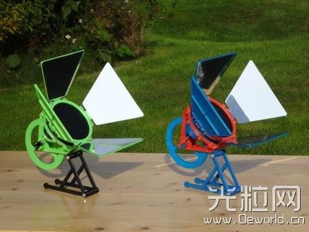 德国工程师3D打印世界首台太阳能斯特林发动机