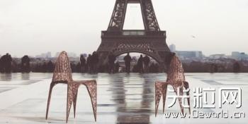Ventury Paris推出3D打印时尚家具作品