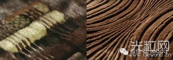 一件皮草加上激光切割技术独特处理妙不可言