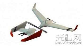 小公司借助3D打印开发可变翼无人机MRB-1