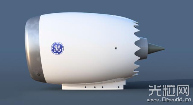 创客3D打印波音787喷气发动机仿真模型