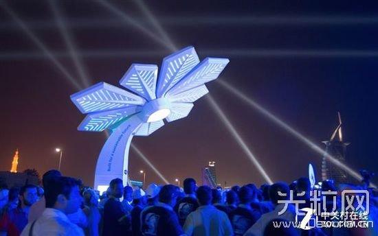 迪拜土豪大手笔:3D打印直连WiFi棕榈树