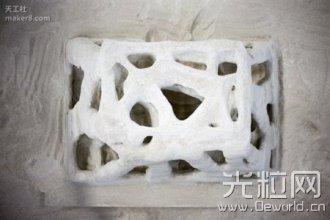 学生开发出小型混凝土3D打印机并公布教程