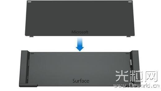 微软推官方版Surface Pro 3底座3D打印模版