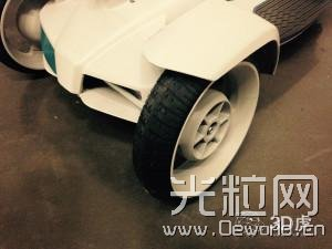 有了3D打印的电动滑板车 堵车将成为过去式