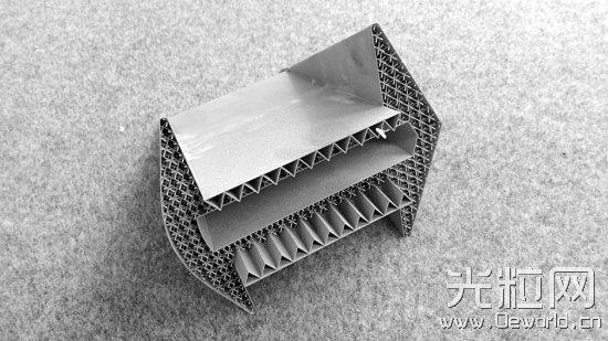3D打印的金属构件