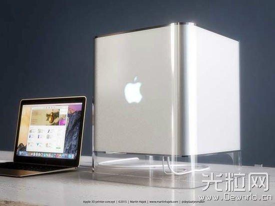 苹果彩色3D打印机