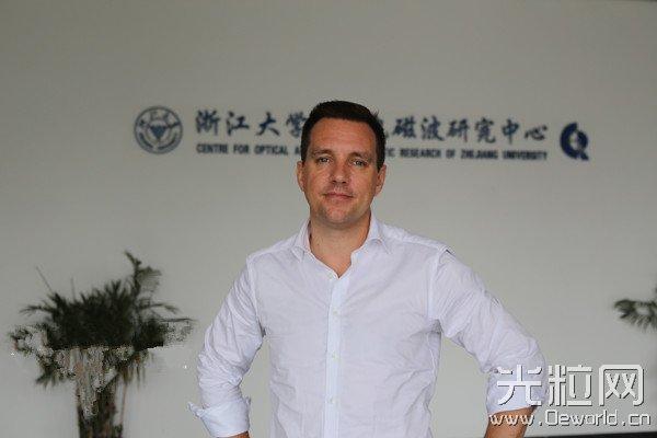 瑞典光电专家结缘杭州 要把创业教育带进中国高校课堂