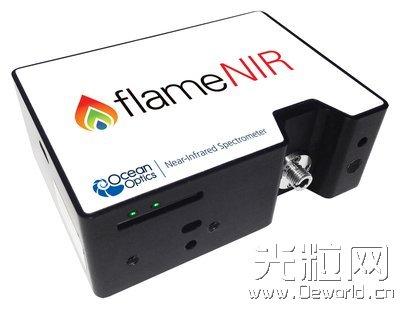 海洋光学的微型近红外光谱仪Flame-NIR新品上市