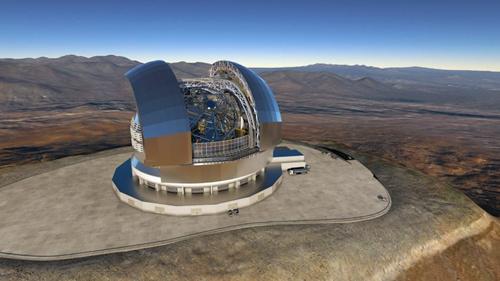 智利将建立全球最大的地基光学望远镜