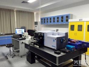 激光显微共聚焦拉曼光谱仪搭建完成并投入使用