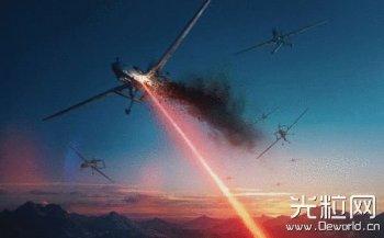 外国公司正研发激光武器 用于打击无人机机群