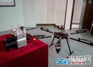 国内最轻机载激光雷达亮相 可用于无人机等