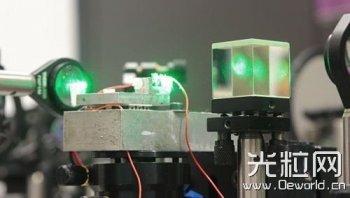 俄成功用激光为手机充电:未来将用于太空飞船