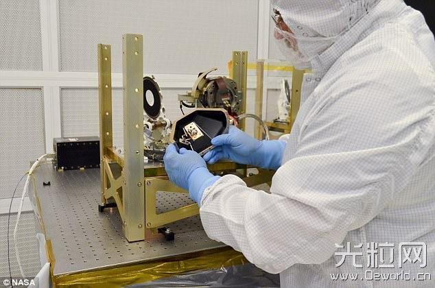 NASA空间站用激光上网 速度比普通宽带快100倍
