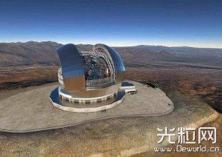 最大光学红外望远镜智利开建 有助于搜索宜居行星