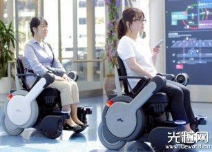 自动驾驶轮椅现身日本和新加坡 搭载激光雷达