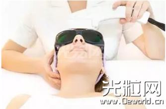 激光技术在医疗美容领域市场巨大