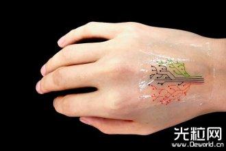 "MIT开发基于""细菌墨水""的3D打印纹身贴:可对不"