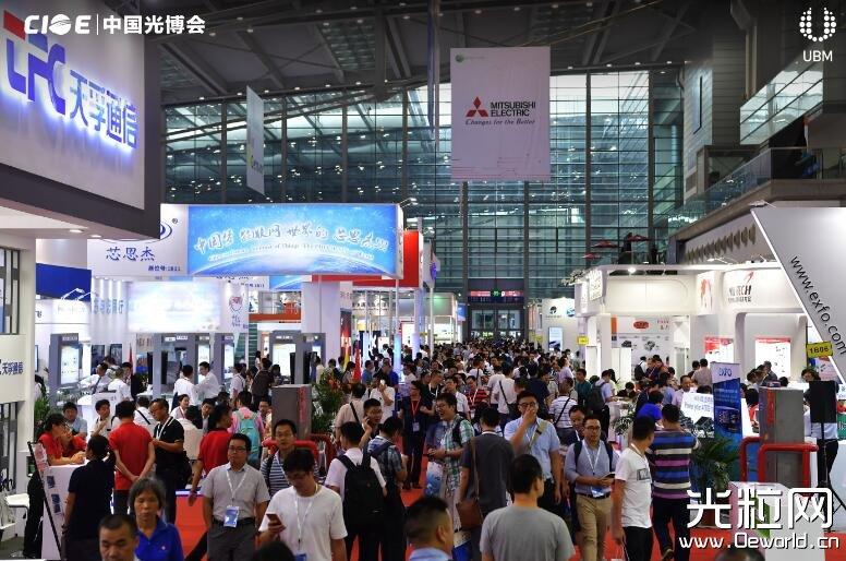 CIOE 中国光博会展位预定火爆,抢占光电发展制高点