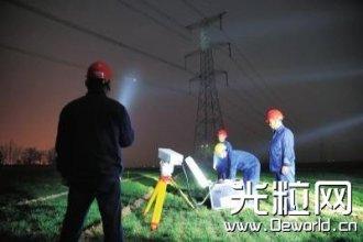 高科技还能这么用 河南首次激光炮打风筝