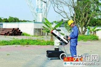 东莞供电局发布第三代激光大炮