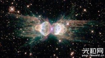 天文学家找到蚂蚁星云神秘激光来源 揪出一颗未