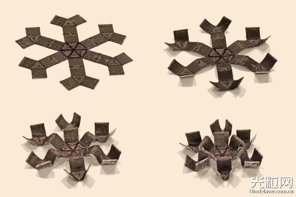 MIT发现神奇3D打印智能材料 能跳跃、爬行、接球