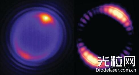 美科学家实现纳米颗粒覆盖的激光微球上