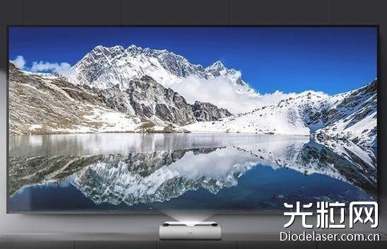相较液晶电视,大尺寸屏幕是激光电视的一大优势