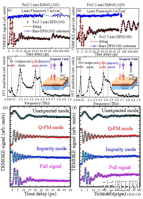 物理所激光诱导反铁磁超快自旋动力学研究取得
