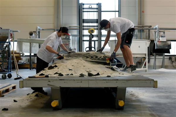 苏黎世联邦理工学院为DFAB House建造整块80平方米的3D打印天花板
