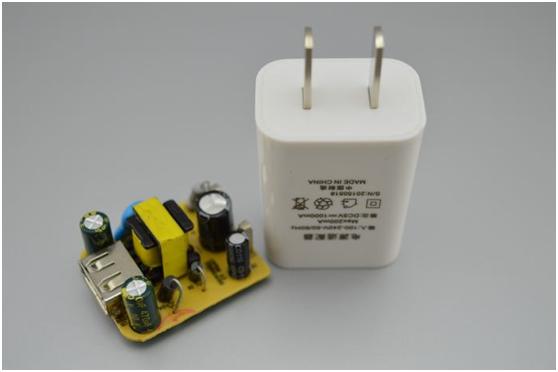 激光打标机在手机充电器上的应用
