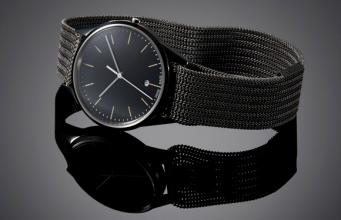 Uniform Wares 腕表表链中的粉末床熔融3D打印技术