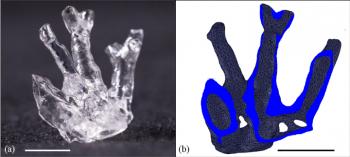 研究人员使用层析成像,体积3D打印体软医疗设备